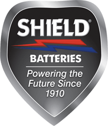 Shield batteries logo
